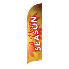 New Season Leaves Banner