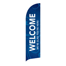 Flourish Welcome Banner