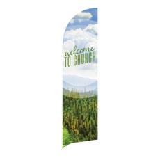 Season Welcome Pine Banner