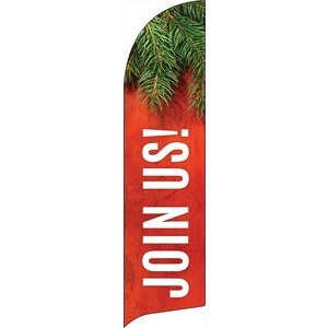 Tis The Season Join Us Banners