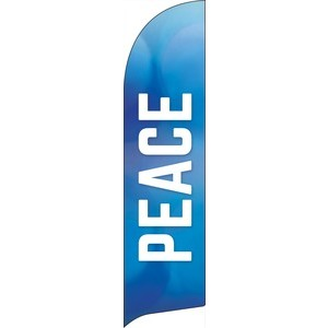 Vibrant Color Peace Banners