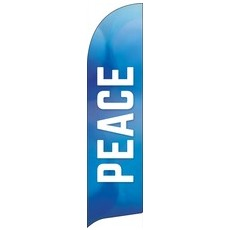 Vibrant Color Peace Banner