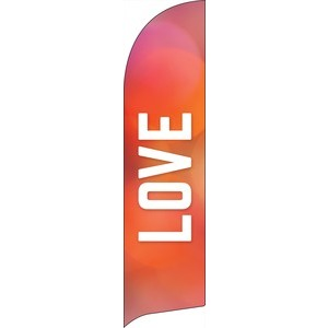 Vibrant Color Love Banners