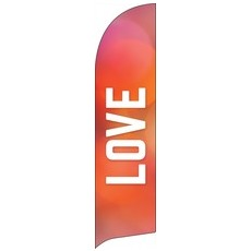 Vibrant Color Love Banner
