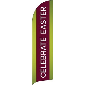 Celebrate Easter Stripe Banners