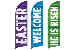 Easter Welcome Set Banners