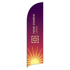 Sun Logo Banner
