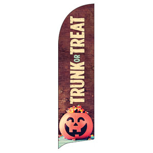 Trunk or Treat Flag Banner
