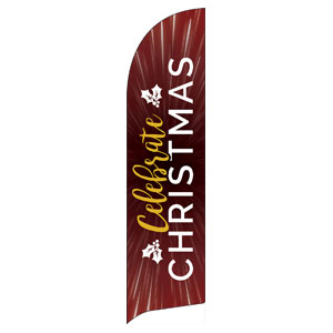 Celebrate Christmas Burst Banners
