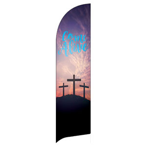 Come Alive Easter Journey Flag Banner