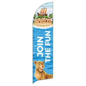 Shipwrecked Flag Banner
