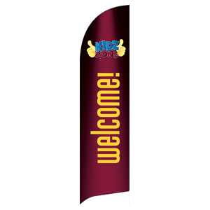 Marquee Welcome Flag Banner