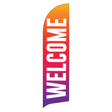 Welcome Bold Abstract
