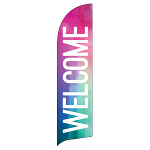 Pastel Abstract Flag Banner