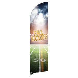 Fall Kickoff Stadium Flag Banner