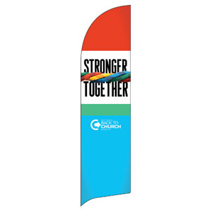 BTCS Stronger Together Flag Banner