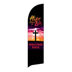 Hope Life Cross Welcome Back