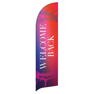 Celebrate Easter Crown Welcome Back Flag Banner
