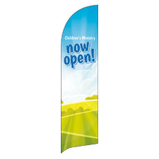 Bright Meadow Children's Ministry Banner