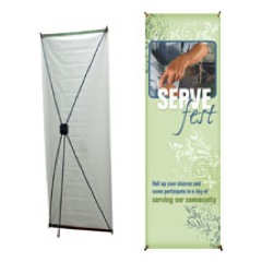 Roll Up Your Sleeves Banner
