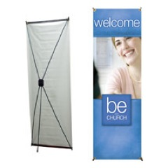 Be the Church Welcome Banner