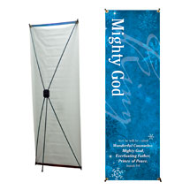 Isaiah 9 Mighty God Banner