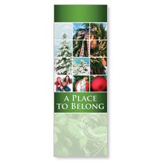 Belong Wreath Banner