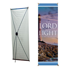 Lord is My Light Banner