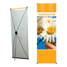 Stripes Welcome Banner