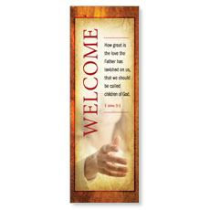Verses Welcome Banner