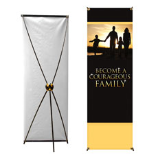Courageous Family Banner