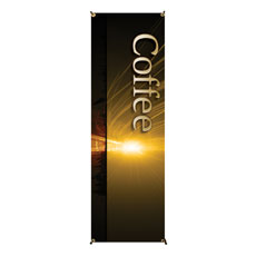 Light Rays Coffee Banner