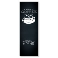 Chalk Coffee Banner