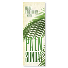 Easter Photo Palm Banner