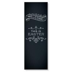 Chalk Easter Banner