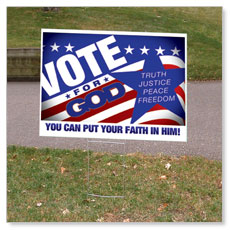 Yard Signs Displays & Stands