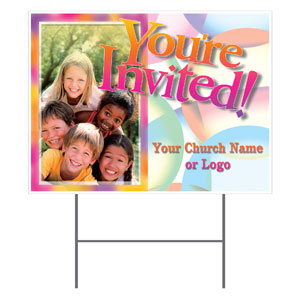 Kids Pyramid Yard Signs