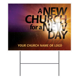 New Church Yard Signs