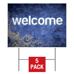Adornment Welcome Yard Signs