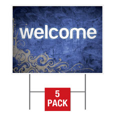 Adornment Welcome Yard Sign