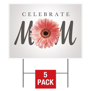 Mom Flower Yard Signs