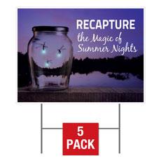 Recapture the Magic Yard Sign