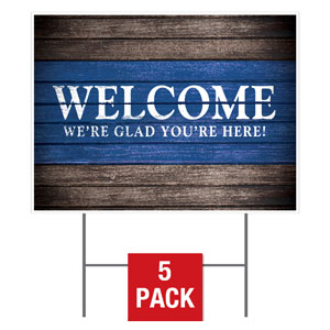 Rustic Charm Welcome Stock Yard Sign  Yard Signs - Stock 1-sided