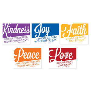 Fruit of the Spirit Yard Signs