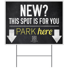 Slate Park New Yard Sign