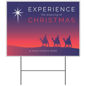Christmas Wise Men Yard Signs