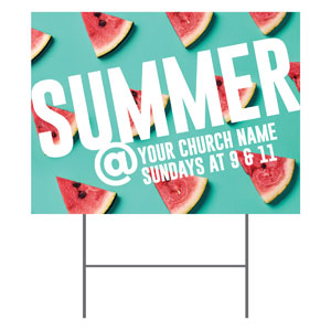 Watermelon Summer At YardSigns