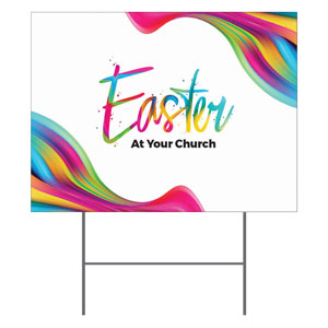 CMU Easter Invite 2020 YardSigns