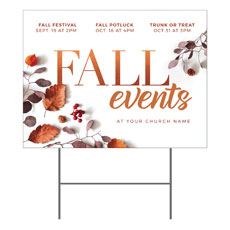 Fall Events Nature