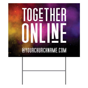 Dark Smoke Together Online YardSigns